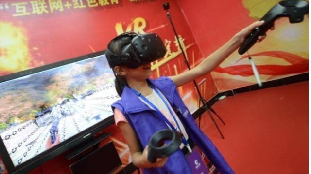 VR红色教育基地打破沉闷教学,让思政教育立体化