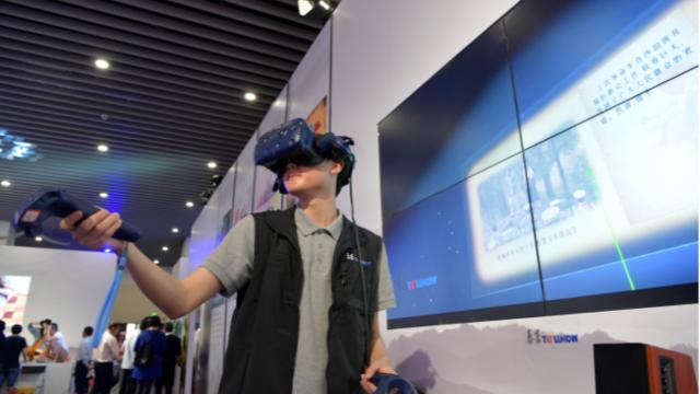 VR技术展示党的历史进程让红色教育立体化