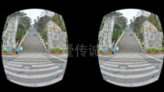 360°VR全景技术游览红色景区,带来全新体验